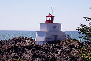 Ucuelet Lighthouse, Wild Pacific Trail, Ocean Mist Guesthouse, Ucluelet, BC